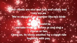The Ronettes - Sleigh Ride (Lyrics)