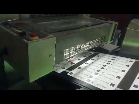 Low Pile UV Curing Machine