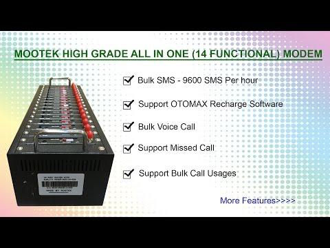 16 port 16 sim Bulk SMS Modem and Voice call Modem