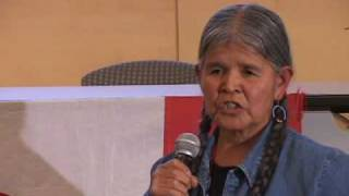Jean White Horse speaks at the 2009 AIM Fall Conference (pt 3 of 3)