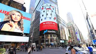 My WISeID App on Nasdaq Tower