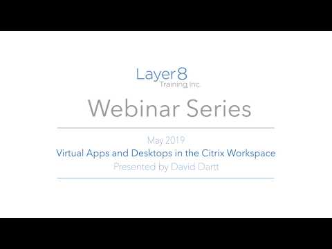 Virtual Apps and Desktops in the Citrix Workspace - YouTube