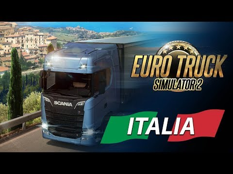euro truck simulator 2 italia dlc linux mac pc steam. Black Bedroom Furniture Sets. Home Design Ideas
