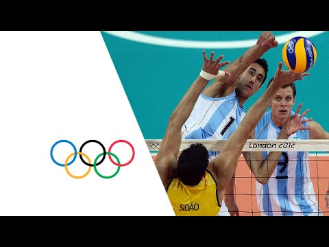 Volleyball Men's Quarter-Finals Argentina v Brazil - Full Replay | London 2012 Olympics