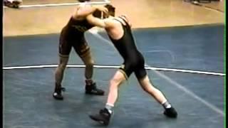 1996 NCAA Semis Mark Ironside (Iowa) vs. Steve St. John (Arizona State)