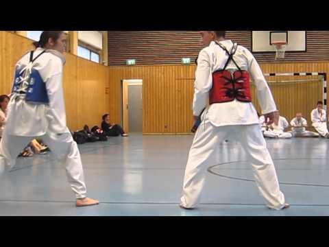 Taekwondo Wettkampf Übungen PST Trier