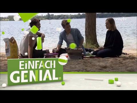 Ideen rund ums Picknick: Mini-Grill, Mini-Tisch, alternative Holzkohle   Einfach genial   MDR