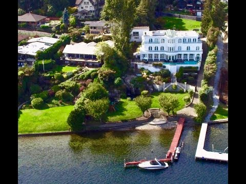 ICONIC  LAKE WASHINGTON ESTATE