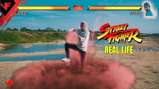 Street Fighter Game In Real Life