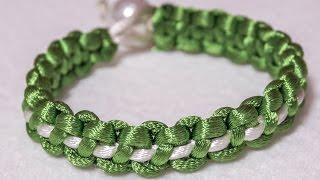 DIY Bracelets | Easy Silky Cord Crafts Tutorial | HandiWorks #65