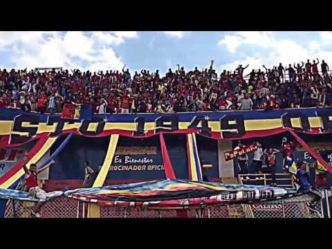 """""""nuestra gran hinchada solo pasto"""" Barra: La Banda Tricolor • Club: Deportivo Pasto"""