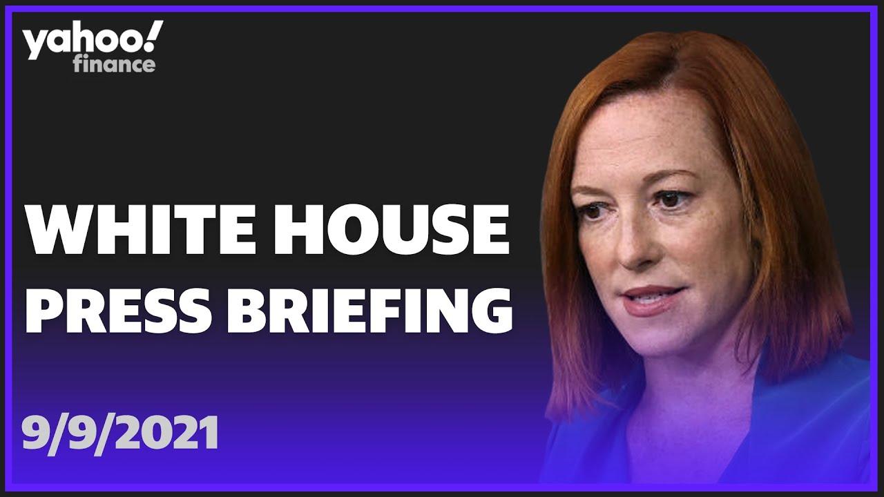 White Home Press Secretary Jen Psaki holds press conference thumbnail