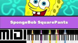 SpongeBob SquarePants Theme / Pirates (Instrumental version tutorial)