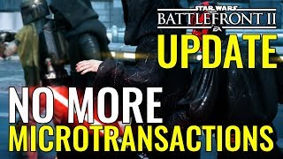 No More Microtransactions (for now) in Star Wars Battlefront 2 - Where does this leave us?
