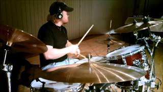 Deep Purple You fool no one, drum cover by Mikko Vanhalakka