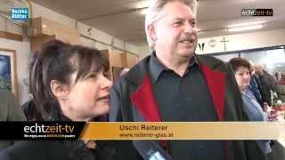 preview picture of video 'Drei Künstler und der erigierte Mann aus Glas 40 Jahre Glaserei Reiterer Ternitz'