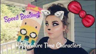 Speed Beading!: Adventure Time Characters Bmo Finn the Human Jake the Dog Princess Bubblegum