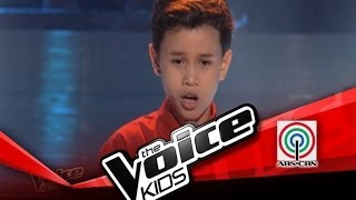 "The Voice Kids Philippines Blind Audition ""Yesterday's Dream"" by Douglas"