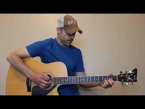 Heaven - Kane Brown - Guitar Lesson   Tutorial - Zoyaaa