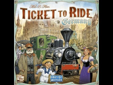 To the Table: Talking...Ticket to Ride Germany