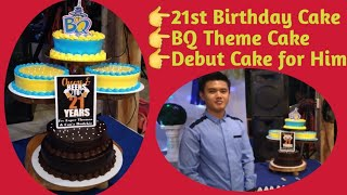 BQ Theme Cake / 21st Birthday Cake / Debut Cake For Him