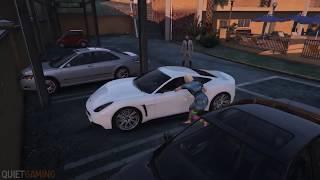 GTA 5 Брутальные убийства в игре,Ниндзя черепашка, мод, смешные моменты