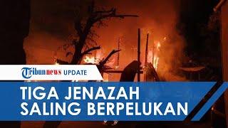 Rumah di Polewali Mandar terbakar Tengah Malam, 3 Anak Tewas Dalam Kondisi Berpelukan