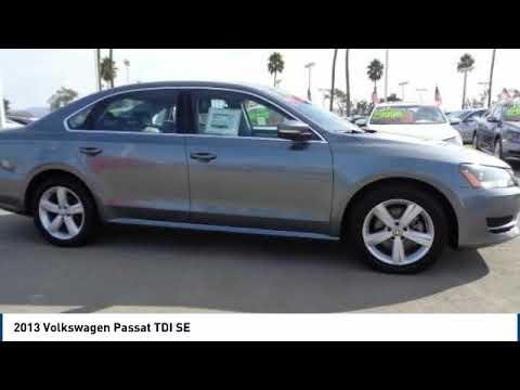 2013 Volkswagen Passat 2013 Volkswagen Passat TDI SE FOR SALE in Salinas, CA P11974