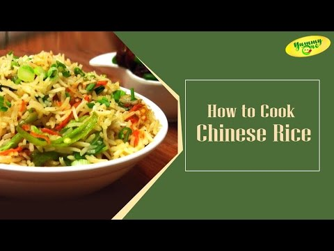 How to Make Chinese Rice from Bharathi's Kitchen || YummyOne