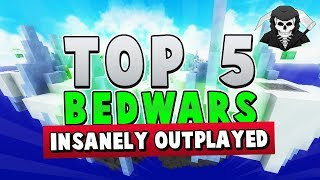 INSANELY OUTPLAYED! - Top 5 BED WARS PLAYS of the Week!