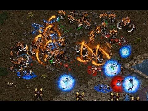 herO (Z) v Shuttle (P) on Fighting Spirit - StarCraft - Brood War REMASTERED