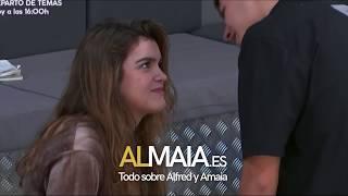 ALFRED Y AMAIA SE BESAN!!!!
