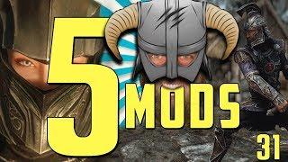5 ARMOR MODS for SKYRIM SE