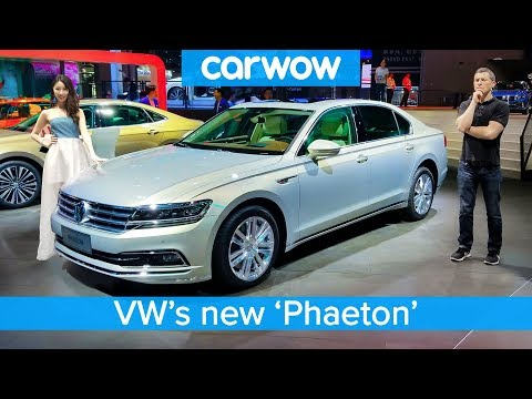 £80000 Volkswagen 'Phaeton' and the other cool cars the Chinese get we DON'T!