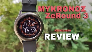 MyKronoz ZeRound 3 Smartwatch Review - Affordable and practical