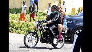 Beyonce N Jay Z in Jamaica on Motor Cycle - Skilla Entertainment