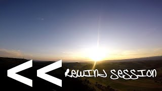 FPV freestyle rewind session