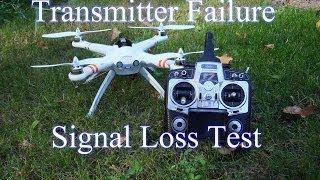 Walkera QR X350 - Radio Failure / Signal Loss Test while in GPS Mode