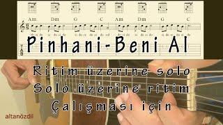 Pinhani-Beni Al-Solo üzerine Ritim-Ritim üzerine Solo çalışması Için