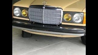 Капсула времени Mercedes Benz 300 с консервации