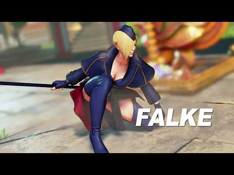Street Fighter V : Trailer pour Falke