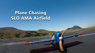 More FPV Plane Chasing at SLO AMA Airfield