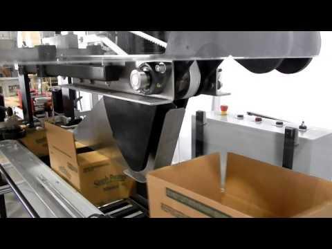 Selladora de cajas a una velocidad de 50 cpm TBS-100FC XL HS
