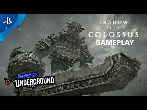 Shadow of the Colossus PS4 Gameplay | PS Underground thumbnail