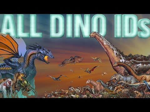 🔴 All ARK DINO IDs - How to Spawn ALL Dinos/Creatures   From A to Z   PC/XBOX/PS4 - 2018