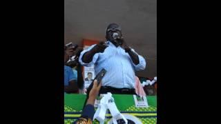 """preview picture of video 'Comicio Dhlakama Nampula """"aqui em Moçambique ninguém tem força como a Renamo'"""