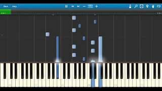 Zedd - Papercut feat. Troye Sivan: Synthesia Piano Tutorial