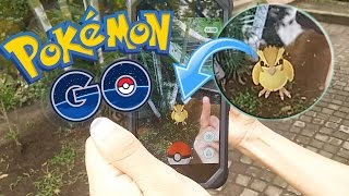CAPTURANDO POKEMONS EN LA VIDA REAL !! - Pokemon GO   Fernanfloo