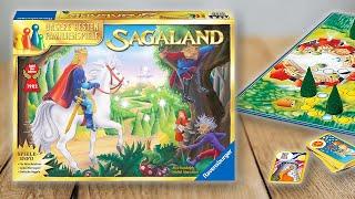 SAGALAND - Spielregeln TV (Spielanleitung Deutsch) - Ravensburger Regeln