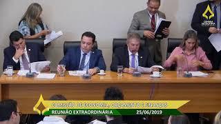 Reunião Extraordinária - Comissão De Economia, Orçamento E Finanças - 25/06/2019